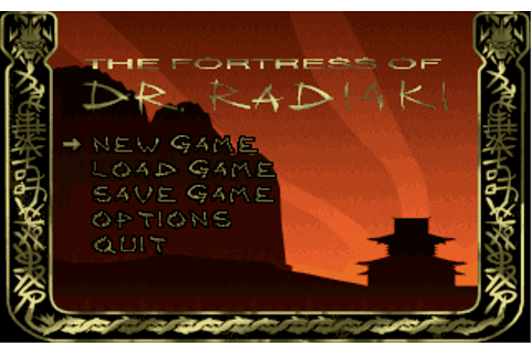 Download The Fortress of Dr. Radiaki - My Abandonware