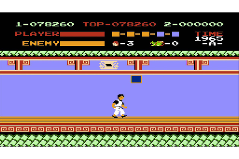 1985 Kung Fu NES Old School retro game playthrough - YouTube