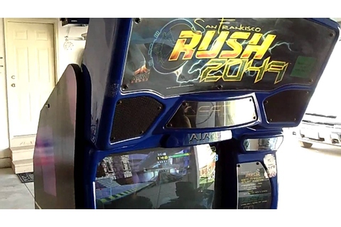 San Francisco Rush 2049 Arcade Game - YouTube