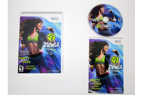 Zumba Fitness 2 game for Wii (Complete) | The Game Guy