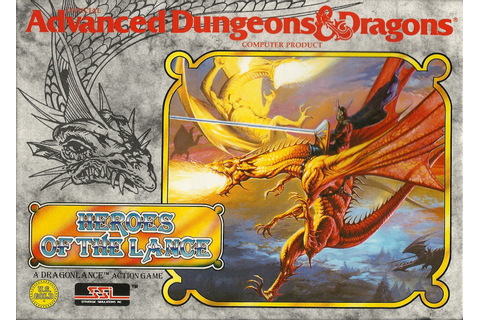 AD&D – Heroes of the lance « My Commodore 64