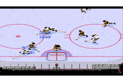 NHL 96 SNES Gameplay HD - YouTube