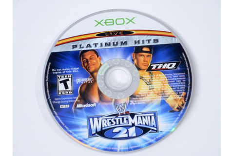 WWE Wrestlemania 21 game for Xbox (Loose) | The Game Guy