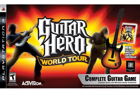 Guitar Hero World Tour Complete Guitar Game - PlayStation ...