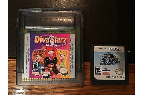 DIVA STARZ ( MALL MANIA ) & HOMIE HOLLERZ Game Boy ...