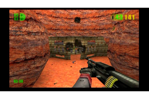 Multiplayer Mode with Bots (Warlords) - Red Faction (PS2 ...