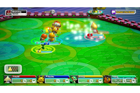 Pokemon Rumble U Screenshots, Pictures, Wallpapers - Wii U ...