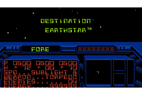 Destination Earthstar - NES Gameplay - YouTube