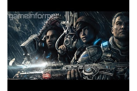 Gears of War 4 Game Informer Coverage Trailer - YouTube