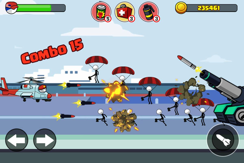 Stick soldier - Revenger - stickman warriors for Android ...