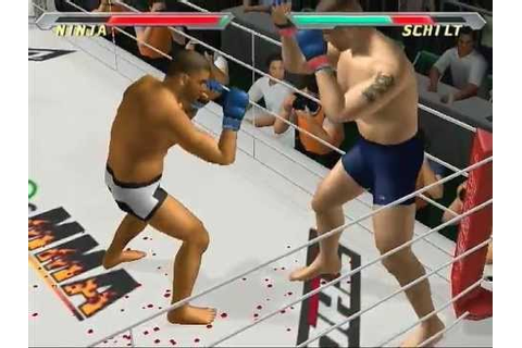[PS2] Pride FC - Fighting Championships Gameplay - YouTube