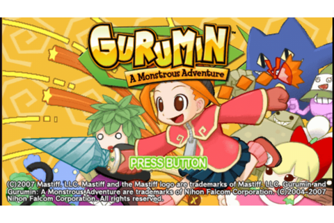 Gurumin A Monstrous Adventure (USA) PSP CSO Free Download ...