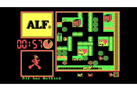 "ALF (aka. ""ALF: The First Adventure) for DOS - YouTube"