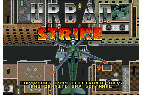 Play Urban Strike Sega Genesis online | Play retro games ...