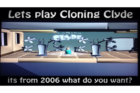 1st xbox 360 live game ever made - Cloning Clyde - with ...