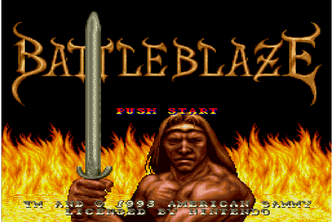 Battle Blaze (Japan) - Super Nintendo (SNES) Game