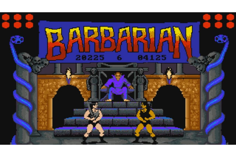 Barbarian: The Ultimate Warrior (Amiga 500) - YouTube