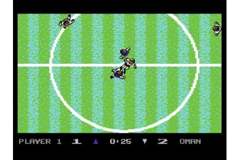 Microprose Soccer Gameplay - YouTube