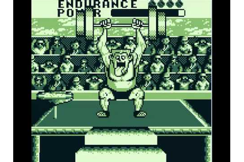 Track Meet - Game Boy - YouTube