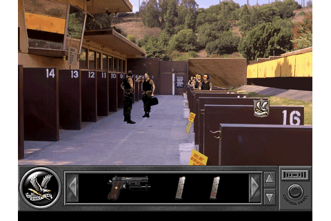 Daryl F. Gates' Police Quest: SWAT Screenshots for DOS ...