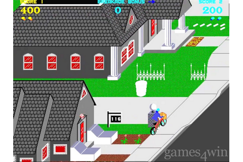 Paperboy. Download and Play Paperboy Game - Games4Win