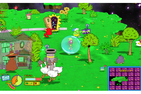 Platform Game Toejam and Earl Back in the Groove Delayed ...