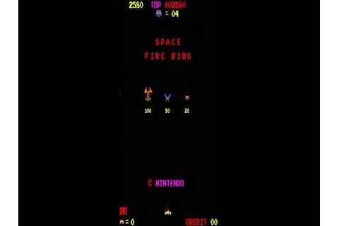 SPACE FIREBIRD ARCADE RETRO VINTAGE MAME GAME 1980 ...