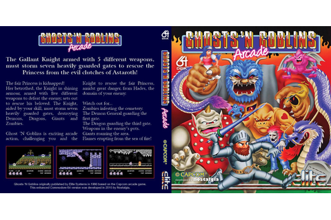 Indie Retro News: Ghosts'n Goblins Arcade - A stunning ...
