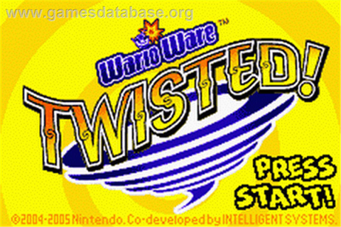 WarioWare Twisted - Nintendo Game Boy Advance - Games Database