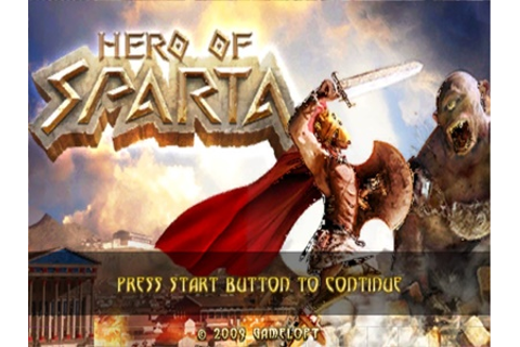 Hero of Sparta PSP ISO - Download Game PS1 PSP Roms Isos ...