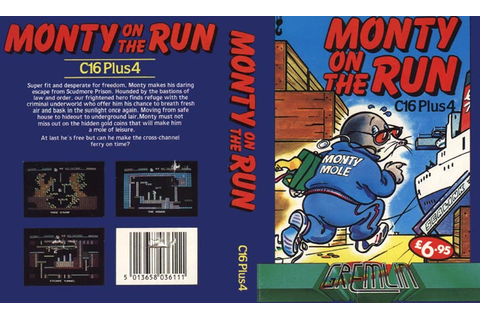 Monty On The Run - Software Details - Plus/4 World