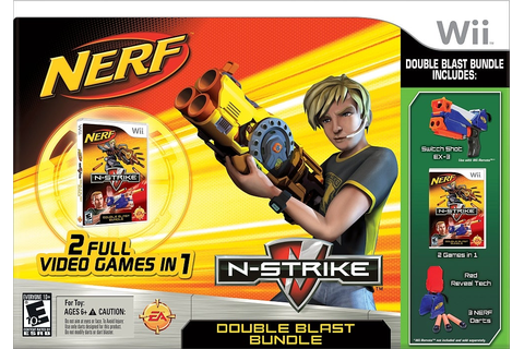 NERF N-Strike: Double Blast Bundle - Wii - IGN