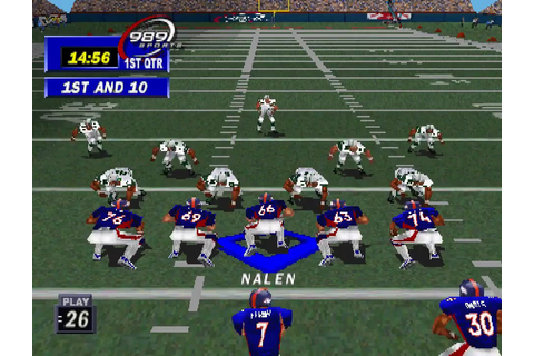 NFL Gameday 99 Download Game | GameFabrique