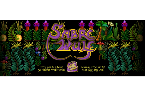 Indie Retro News: Sabre Wulf is back! It's remake time