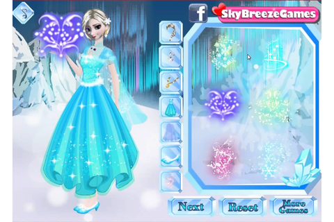 Frozen Movie Game Disney Anna Elsa Sisters Dress Up ...