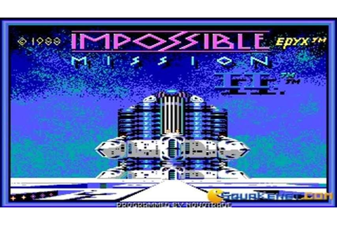 Impossible Mission 2 gameplay (PC Game, 1988) - YouTube
