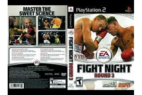 [PS2] Fight Night Round 2 Gameplay [PCSX2][1080p] HD - YouTube