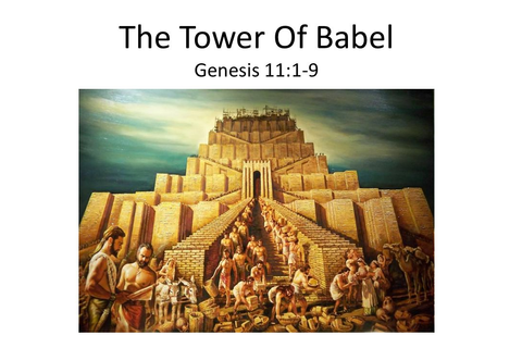 The Tower Of Babel Genesis 11: ppt video online download