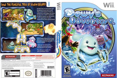 Games Covers: Dewy 's Adventure - Wii