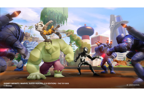 Disney Infinity: Marvel Super Heroes (2.0 Edition) Game ...