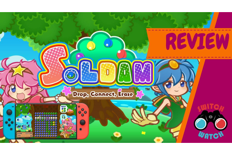 Soldam Drop, Connect, Erase Switch Review - YouTube