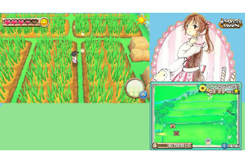 My Farm in Harvest Moon: A New Beginning for the 3DS - YouTube