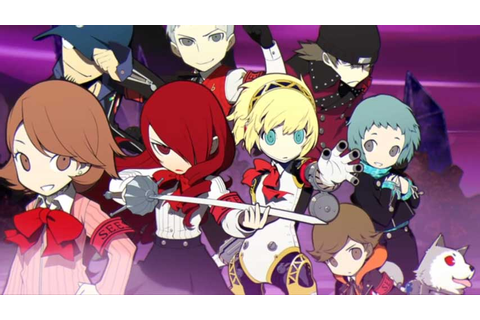 Persona Q: Shadow Of The Labyrinth launch trailer takes ...