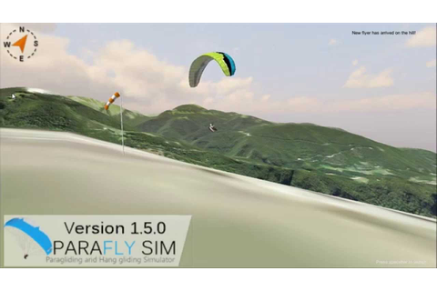 ParaflySim 3D Paragliding Simulator Multiplayer First Look ...