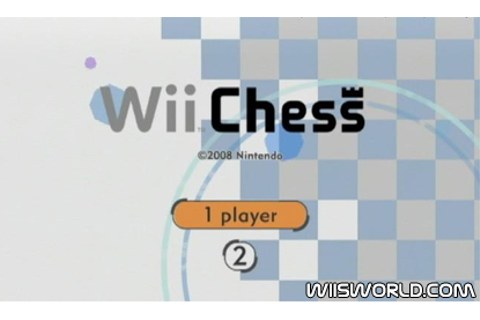 Wii Chess on Wii