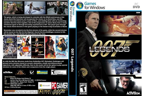 007 Legends GAME PC REPACK - PHOENIXEL