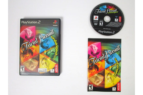 Trivial Pursuit Unhinged game for Playstation 2 (Complete ...
