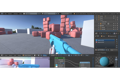 3D Game Engine for Cycles - BlenderNation