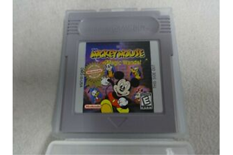 EUC Mickey Mouse Magic Wands! Original Nintendo Gameboy ...