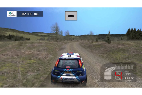 Richard Burns Rally widescreen - YouTube